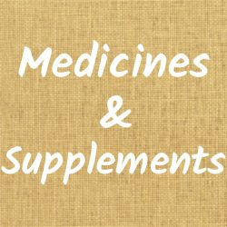 Medicines & Supplements