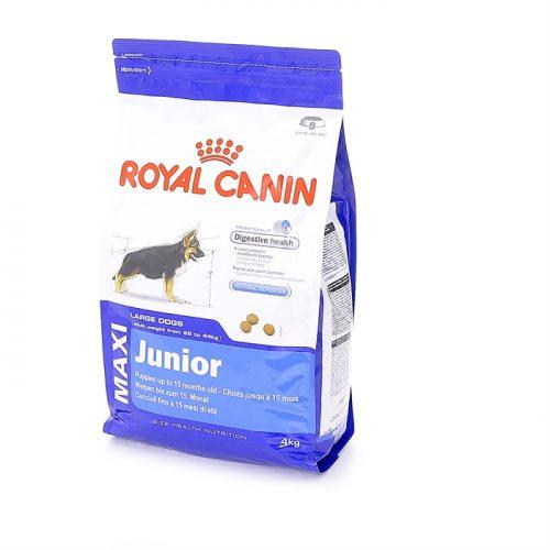 royal canin maxi junior dog ron 39 s pets supplies. Black Bedroom Furniture Sets. Home Design Ideas