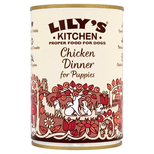 lilys puppy dinner - Lilys Kitchen