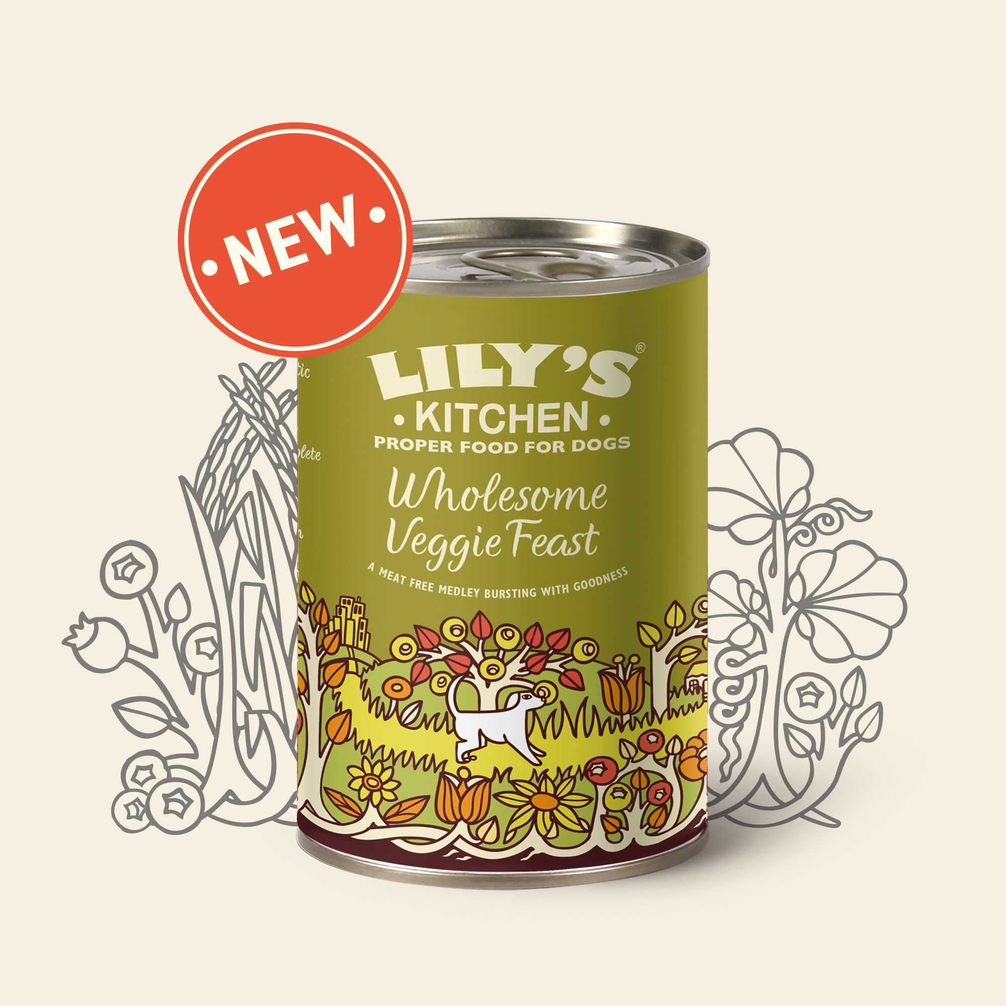 Vegetarian Dog Food Lily S Kitchen