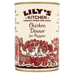 Lily's Puppy Dinner