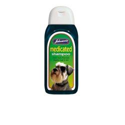 Johnsons Medicated Shampoo
