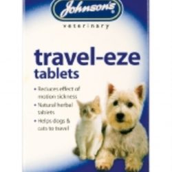 Johnsons Travel eze tablets